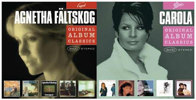A New Economic Series Of Albums Have Been Launched By Rival Records And  Features 5 Cd Packs From Carola, Agnetha Fältskog, Monica Zetterlund, Eva  Dahlgren, ...