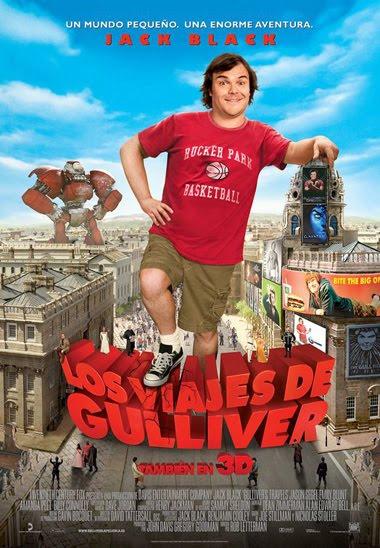 Ver Los viajes de Gulliver (2010) Español Online