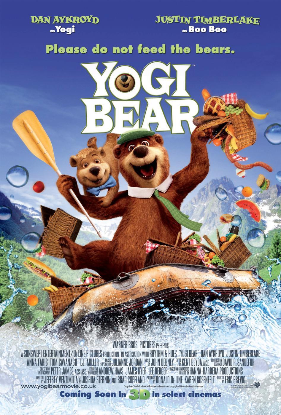 Ver El oso Yogui online