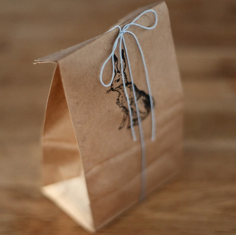 Fresh House Sparrow: brown paper packages, tied up with string JL25