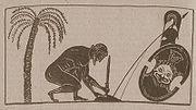 Pintor Exequias - Áyax preparando su propia muerte