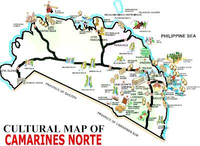 Brief History of Camarines Norte