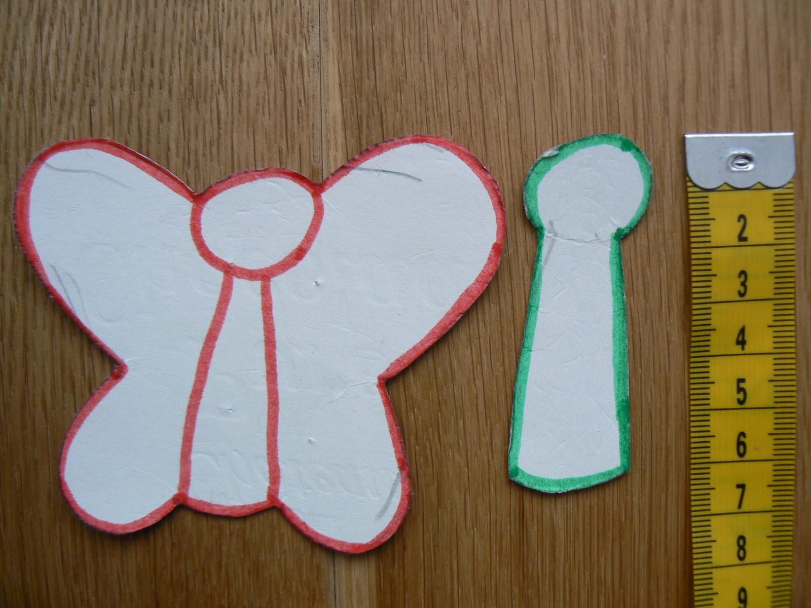 Made bij Mij Vingerpop vlindertje