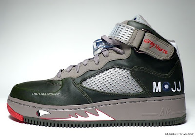 35eab711b21 These Air Jordan Force Fusion V s are loosely modeled on the Hyperion Spitfire  MK VIII 253 Grey Nurse