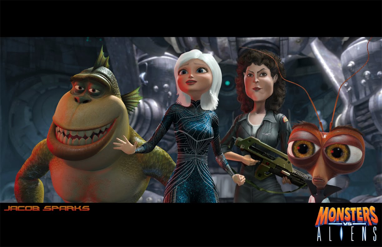 Wrist Watches Monsters Vs Aliens 2