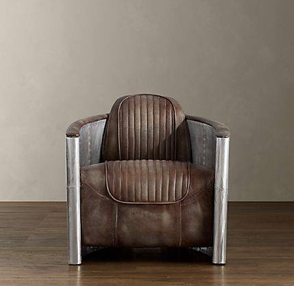 Super Punch Aviator Chair At Restoration Hardware