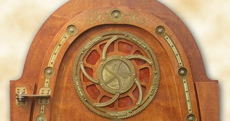 Geek Art Gallery Crafts Nautilus Style Steampunk Door