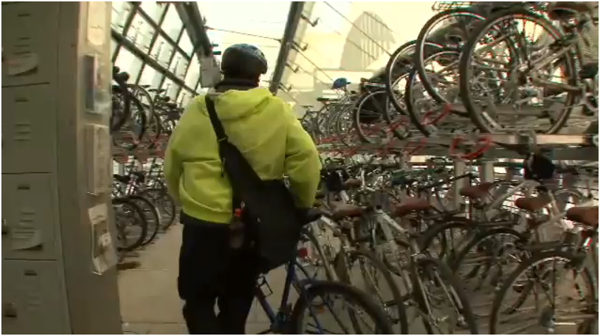 Super Punch: Bicycle Parking In Washington D.C