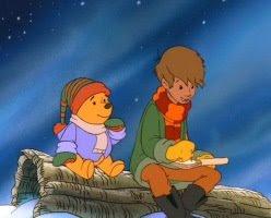 Winnie The Pooh And Christmas Too.The Movieholic Bibliophile S Blog Pooh S Christmas Adventure