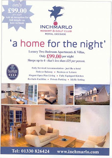 Inchmarlo Advert --- click to enlarge