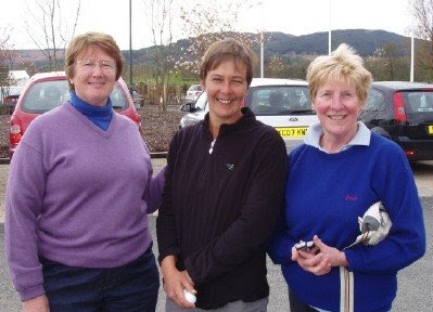 Jean Campbell, Lisa Hall and Lorna Craigie