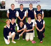 RLCGA County Team - 2008 Scottish Runners Up - Click to enlarge
