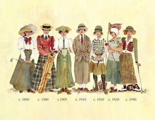 Lady Golfers in 1909 - Click to enlarge