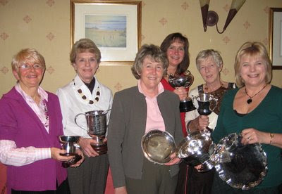 Some Main Trophy Winners at the Douglas Park Prizegiving - Click to Enlarge
