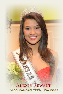 Amber Ross Miss Teen Kansas
