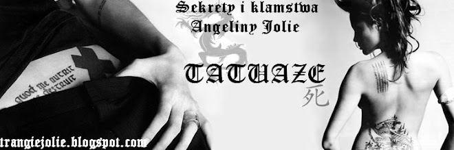 Tatuaże Angeliny Litera M