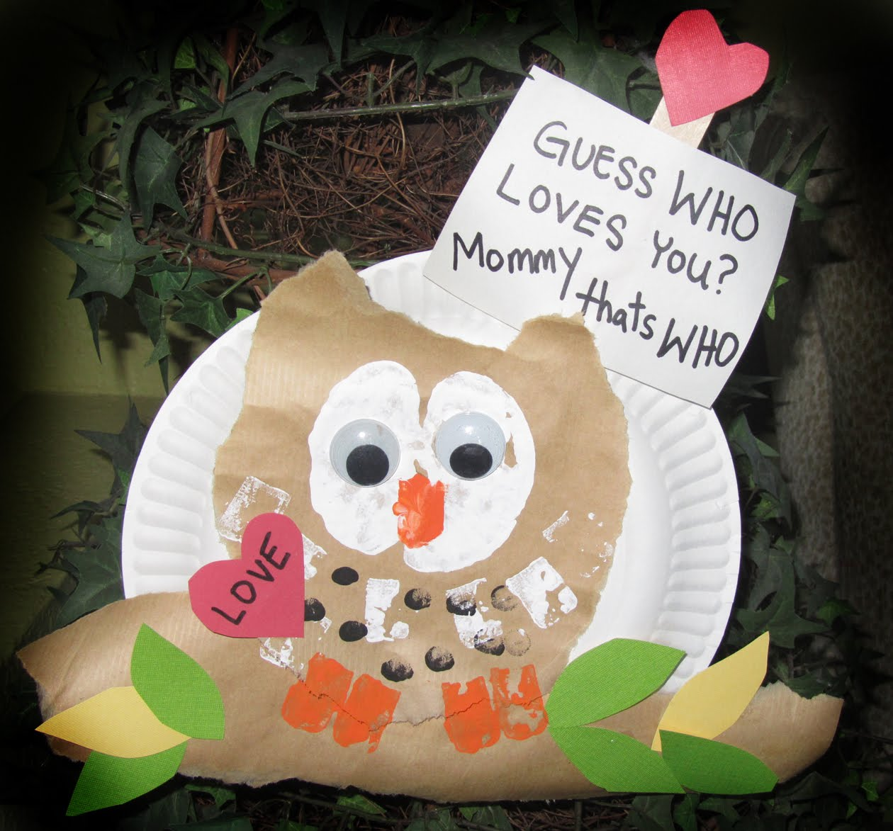 Creatively Quirky At Home Valentine Owls