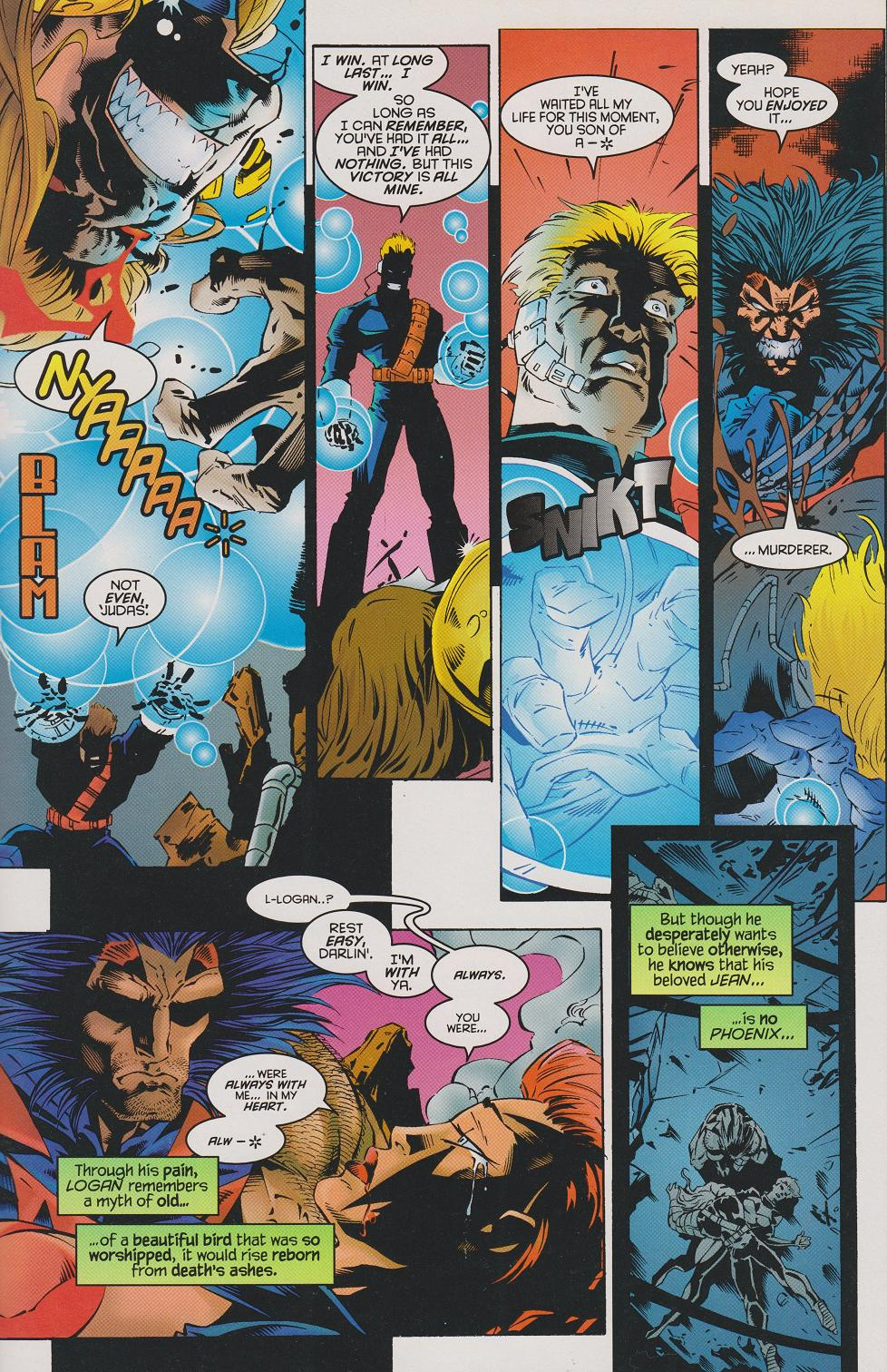 Image result for age of apocalypse omega
