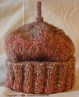 knit cap in Homespun
