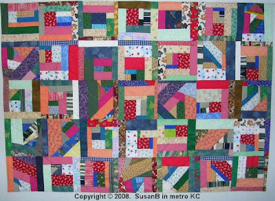 mile-a-minute quilt