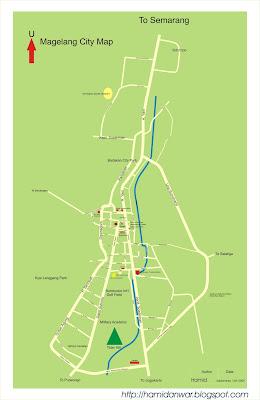 Beyond the Traveling: Peta Kota Magelang