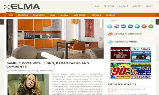 Elma Blogger Template