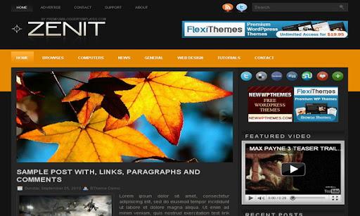 Zenit Blogger Template