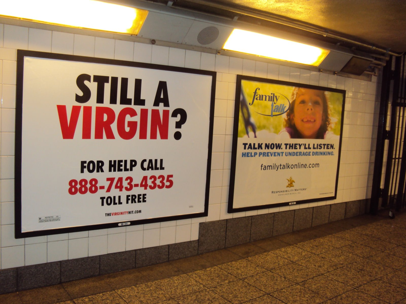 Auckland city: Funny NYC Subway ads :)