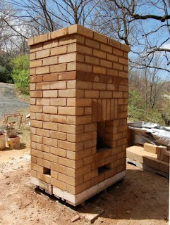 Make Your Own Bricks: My brick furnace plans and more examples