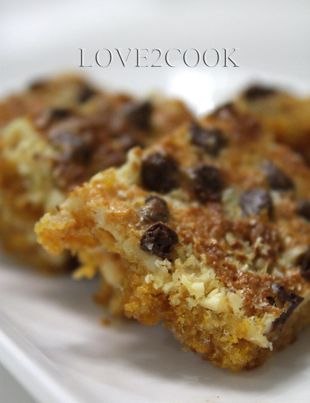 Love2cook Malaysia Kellogg S Magic Cookie Bars