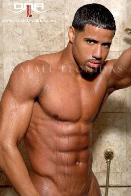sexy men in wet underwear