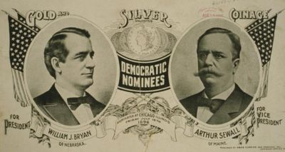 Arthur Sewall was a relative that ran as a VP nominee!