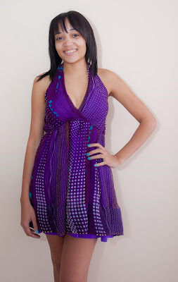 My new party dress
