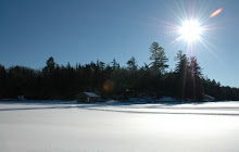 A Sunny Day on Frozen Fourth Lake