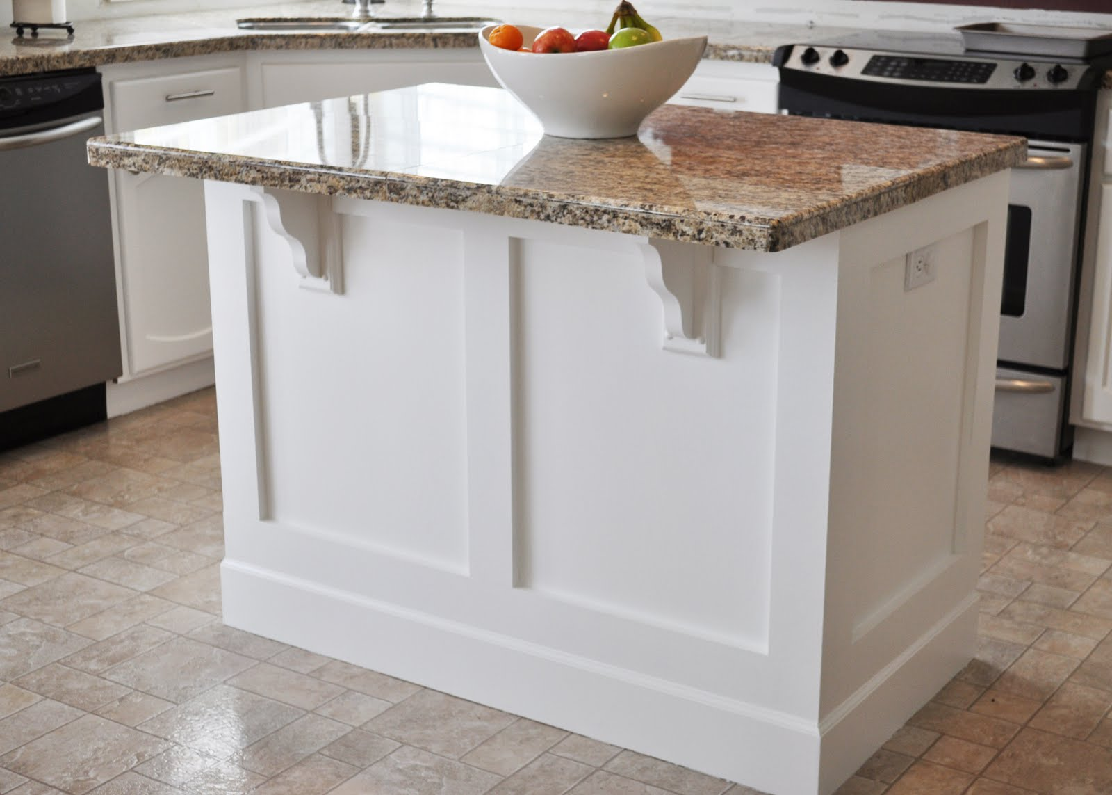 Corbels For Kitchen Island The Dizzy House House 1