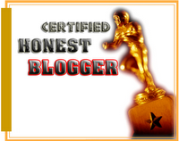 HONEST BLOGGER AWARD