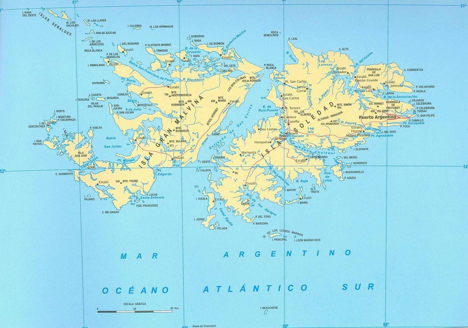 GEOGRAFIA E HISTORIA GEOGRAFIA La Islas Malvinas