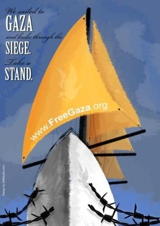 Gaza flotilla trap