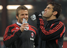 beckskaka-275 KAKA: CAPELLO MUST INCLUDE BECKHAM IN FINAL SQUAD