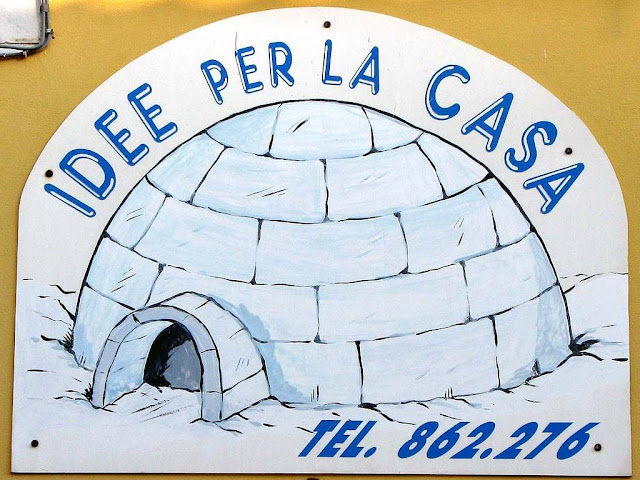 Igloo sign, Livorno