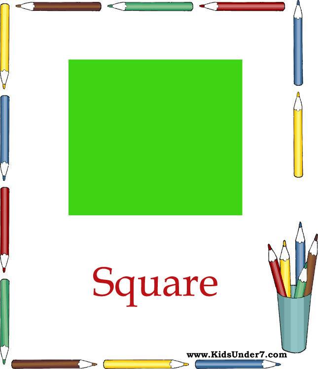 Kids Under 7: Teaching Basic Shapes for Children  Kids Under 7: T...