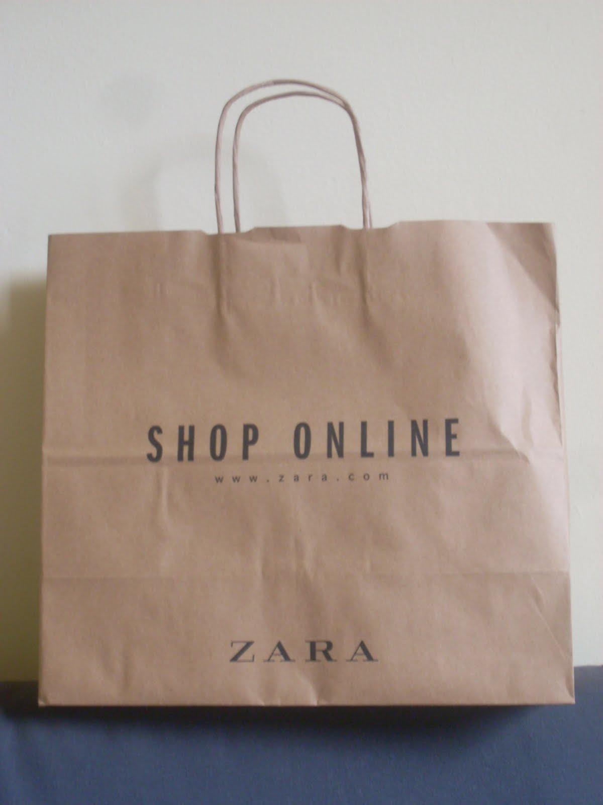Shop zara online