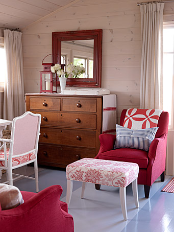 Sense And Simplicity 10 Paint Colours To Use With Red Accents