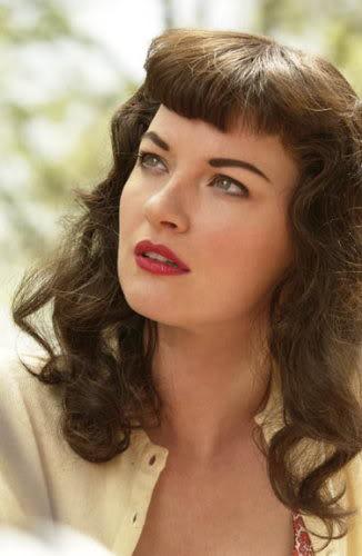 Betty Page Style Fringe