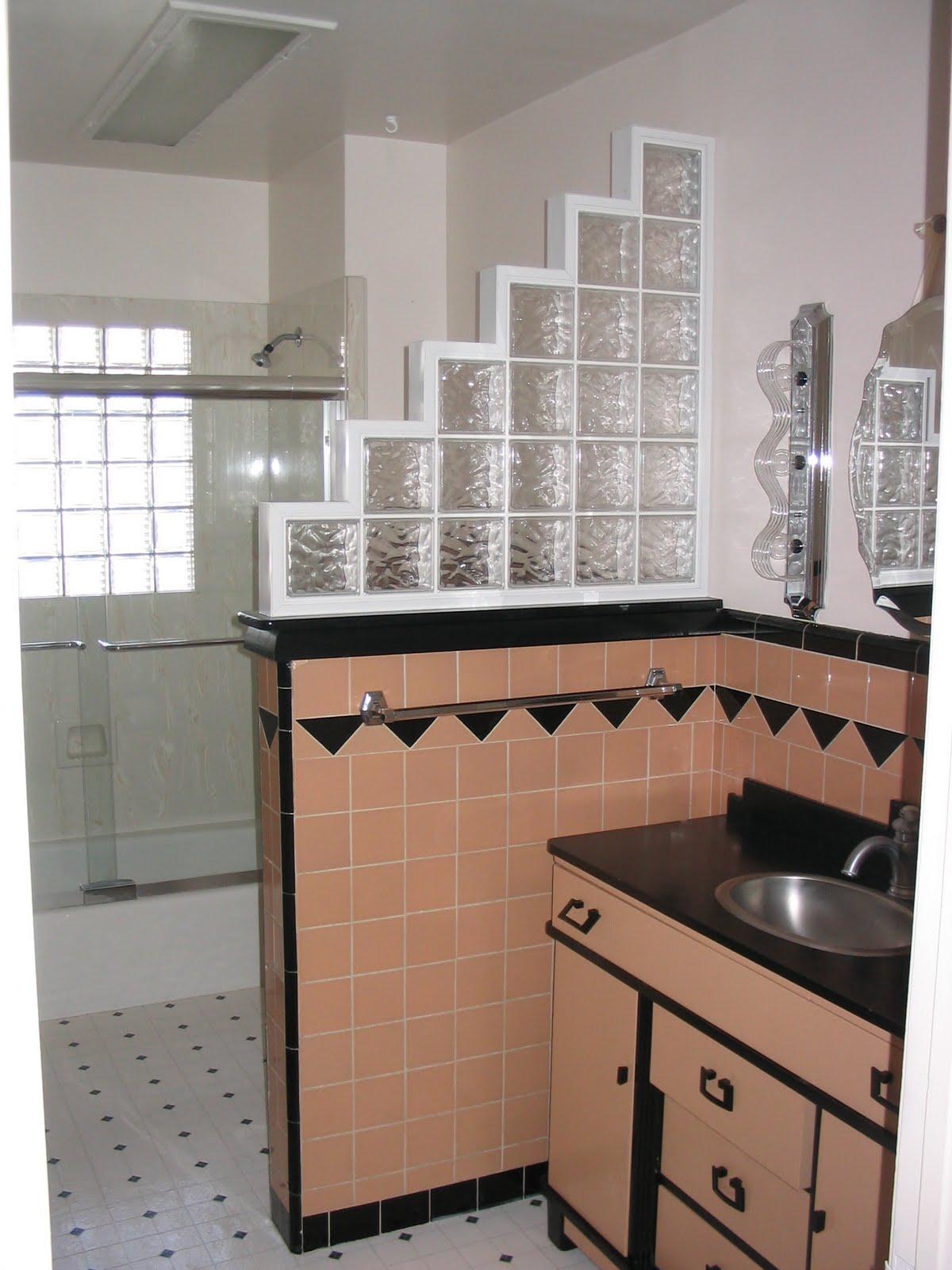 Brooklyn Berry Designs Art Deco Bathrooms Historic Homes