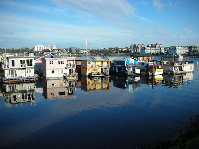 Houseboats in Victoria