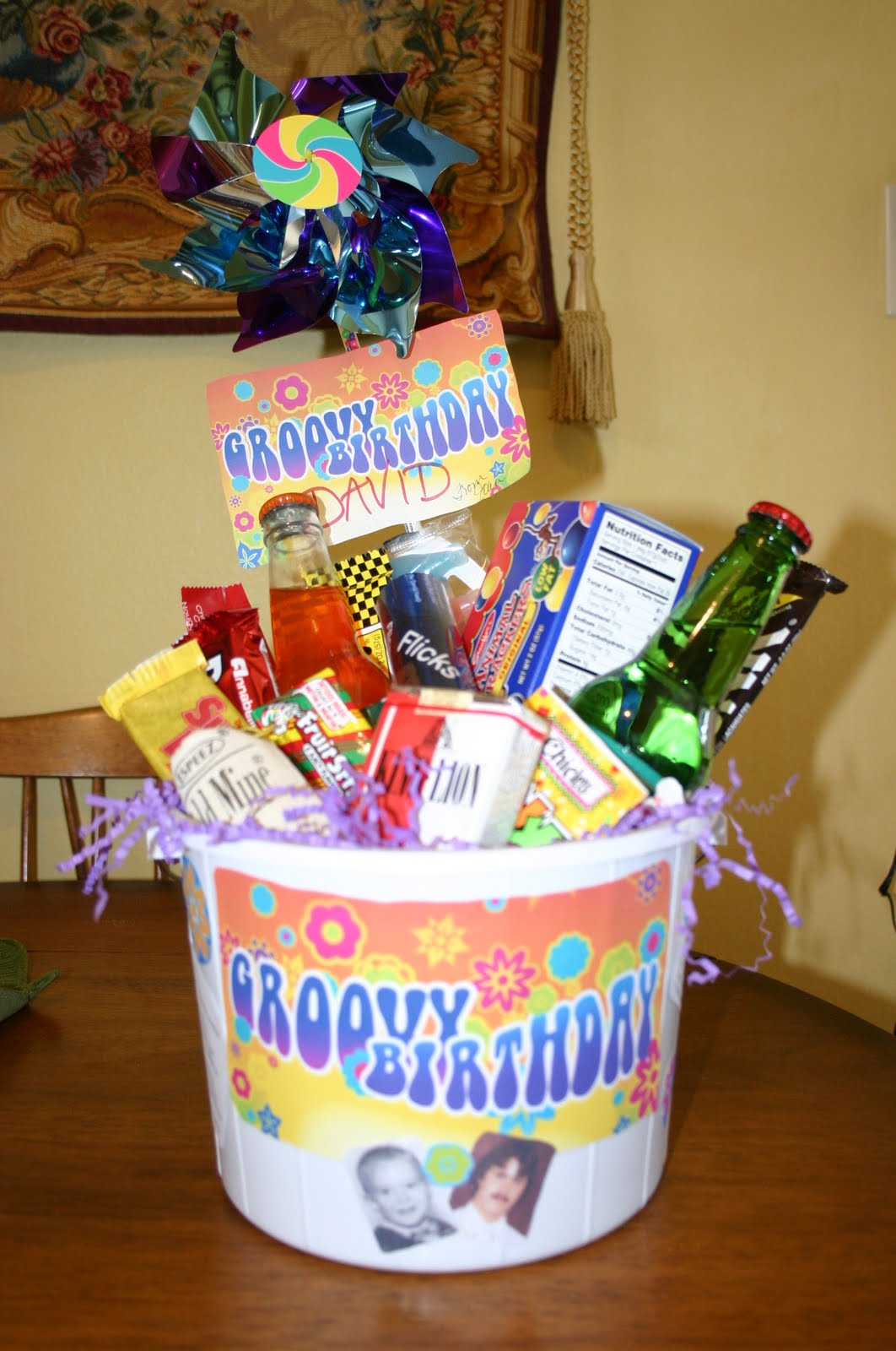 50th Birthday Gag Gift Baskets Tyres2c