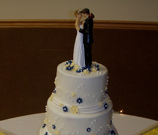 wedding cakes navy blue and yellow creative cakes navy and yellow wedding 25069