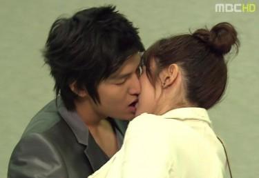 Torrid kissing