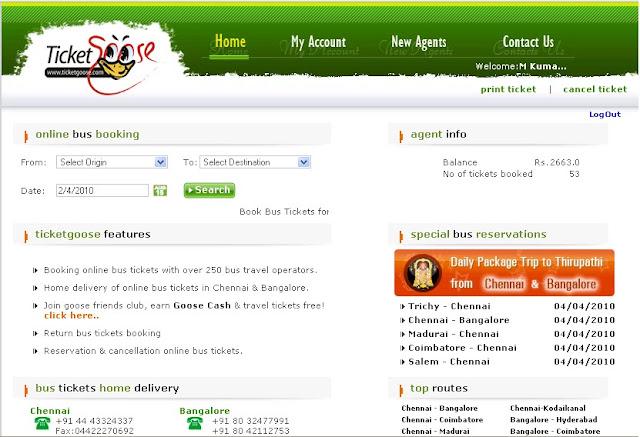Kpn Travels Ticket Booking Coimbatore
